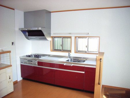 Y様邸キッチン完成1.JPG